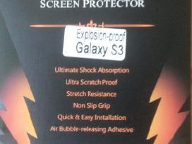 Samsung galaxy s3,s4,apsauginis stiklas
