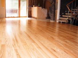 Parketo, grindų šlifavimas/lakavimas/poliravimas