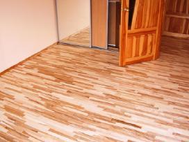 Parketo,grindų šlifavimas/lakavimas/alyvavimas