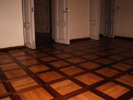 Parketo, grindų šlifavimas/lakavimas/poliravimas - nuotraukos Nr. 3