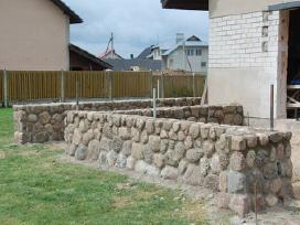 Akmens mūro darbai - nuotraukos Nr. 9