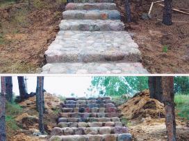 Akmens mūro darbai - nuotraukos Nr. 10