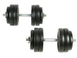 Hantelių Rinkinys 30 kg - 90235 vidaxl