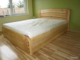 Parduodu uosio masyvo lova su stalciais - nuotraukos Nr. 2