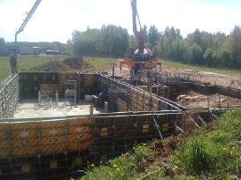 Pamatai,tvoros ir visi betonavimo darbai. Cfa. - nuotraukos Nr. 8