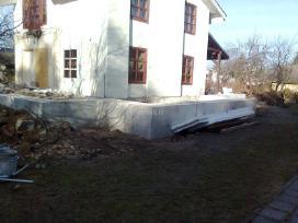 Pamatai,tvoros ir visi betonavimo darbai. Cfa. - nuotraukos Nr. 10