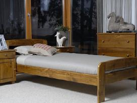 Medinės lovos,čiužiniai Akcija ! - nuotraukos Nr. 4