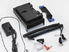 Sony Hdr vaizdo kamerų akumuliatorius-adaptorius - nuotraukos Nr. 3