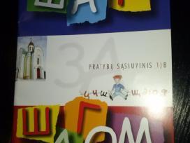 """Pratybu sasiuvinis """"шаг зa шагом"""" 1) B"""
