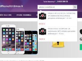 Apple iPhone Atrišimas internetu geriausia kaina - nuotraukos Nr. 3