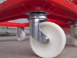 Dėžių transportavimo vežimėliai