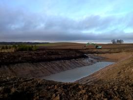 Tvenkiniu kasimas, ekskavatoriaus buldozerio nuoma