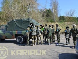 Airsoftas - karinių pramogų organizavimas