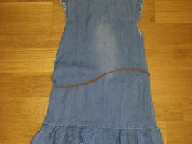 Nauja 152 d plono dzinso suknete su rusvu dirzeliu
