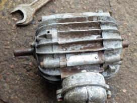 Vokiškas el.variklis 0,5kw 1380aps - nuotraukos Nr. 4