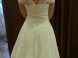 A tipo siuvinėta neilga vestuvinė suknelė - nuotraukos Nr. 5