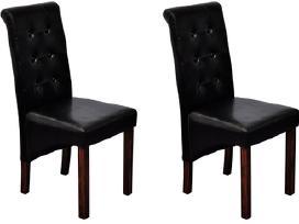 2 Antikvarinio Stiliaus Valgomojo Kėdės - vidaxl