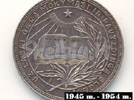 Mokslo baigimo medalių kolekcijai. - nuotraukos Nr. 4