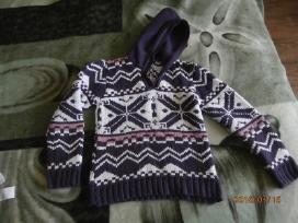 Siltutelis megztinis su kapisonu, siunciu pastu