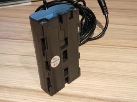 Sony Hdr vaizdo kamerų akumuliatorius-adaptorius