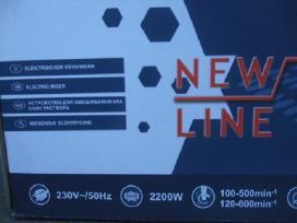 Klijų, betono maišytuvai New Eurotek - Super kaina
