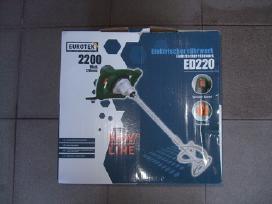 Multifunkcinės Galandinimo Staklės Eurotek Mf 250 - nuotraukos Nr. 7