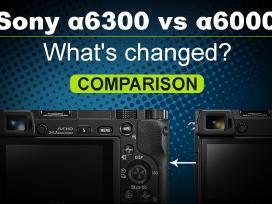 Sony objektyvas 35mm, 18-105mm 24-70mm, adapteriai