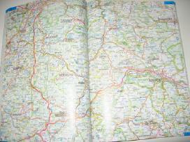 Vokietijos ir Europos keliu atlasas