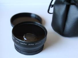 Wide angle Fish Eye adapter 58,52mm sriegiui