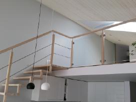 Laiptai Laiptu gamyba medzio pakopos - nuotraukos Nr. 12