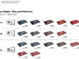 Murano - modulinė plieninė čerpė Naujiena! - nuotraukos Nr. 6