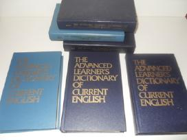 Anglu kalbos mokymuisi, zodynai, vadoveliai.