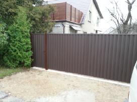 Karkasinė statyba, medinės terasos, tvoros ir kt. - nuotraukos Nr. 12