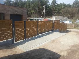 Karkasinė statyba, medinės terasos, tvoros ir kt. - nuotraukos Nr. 3
