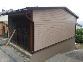 Karkasinė statyba, medinės terasos, tvoros ir kt. - nuotraukos Nr. 2