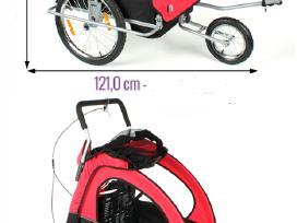 Nauja dviracio priekaba su amortizatoriais - nuotraukos Nr. 2