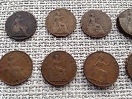 Uk (Didziosios Britanijos) monetos 1885-1967 - nuotraukos Nr. 3