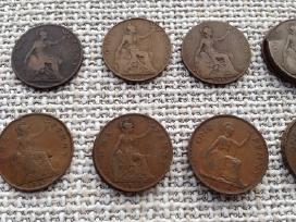 Uk (Didziosios Britanijos) monetos 1885-1967 - nuotraukos Nr. 4