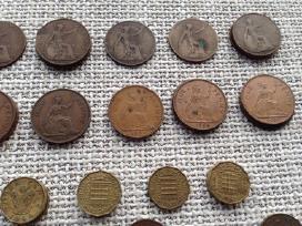 Uk (Didziosios Britanijos) monetos 1885-1967 - nuotraukos Nr. 6