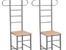 Dvi Kėdės – Kabyklos Rūbams 60651 vidaxl
