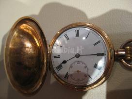Paauksuotas kišeninis anglijos manufakt. laikrodis - nuotraukos Nr. 3