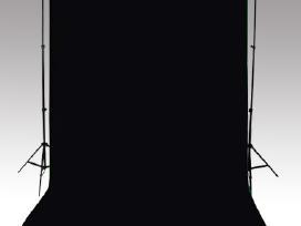 Juodas Fonas 500 x 300 cm - vidaxl