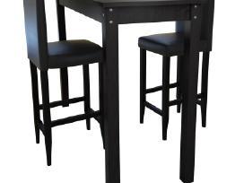 Baro Stalas su 2 Baro Kėdėmis -160727. vidaxl