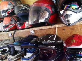Salmai nauji croos,enduro,motociklo,motorolerio