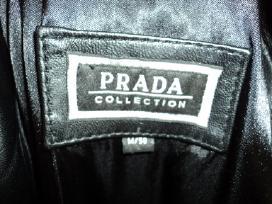 Moteriskas odinis paltas ,Prada,