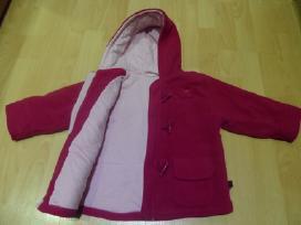 Rozines spalvos paltukas - striukyte 7 eur
