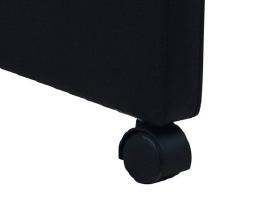 Dviejų Juodų Valgomojo Kėdžių Komplektas - vidaxl