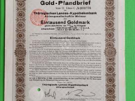 1000 Goldmark 1931 m.
