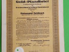 1000 Goldmark 1927 m.