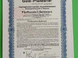 100 Gaoldmark 1928 m.